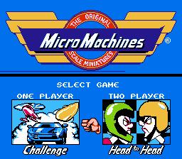 Micro Machines (USA) (Unl)-1