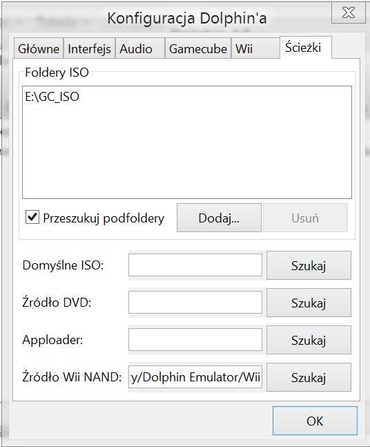 %name Konfiguracja Dolphina (Emulator Gamecube/Wii)
