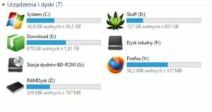 %name Podmiana ikon dysków i rozszerzeń w Windows 8.1