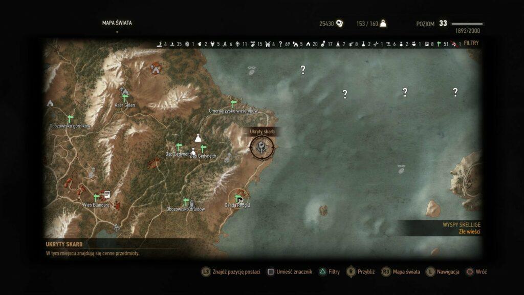 Wyspy Skellige 2 1024x576 Wiedźmin III   Szybkie levelowanie (poradnik)