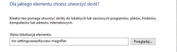 scr 2438796 Tworzymy skróty do ustawień systemu Windows 10