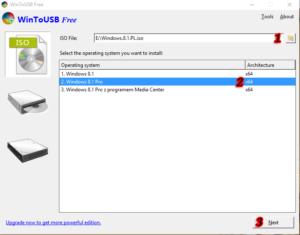 win2usb krok 1 300x235 Instalacja systemu Windows na nośniku zewnętrznym.