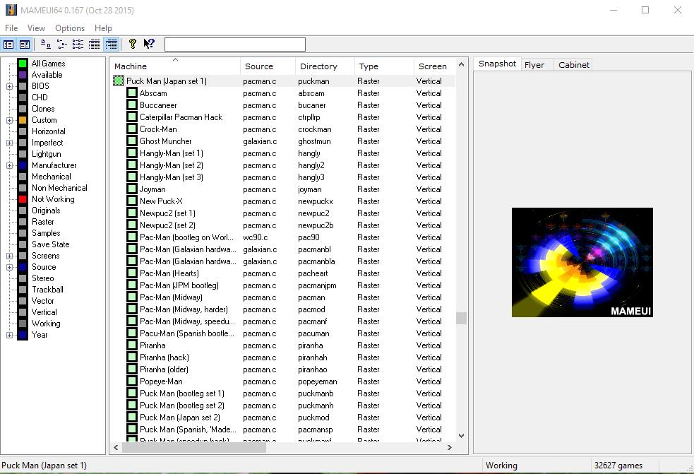 mame first run Gramy gry z automatów na naszym PC (MAME)