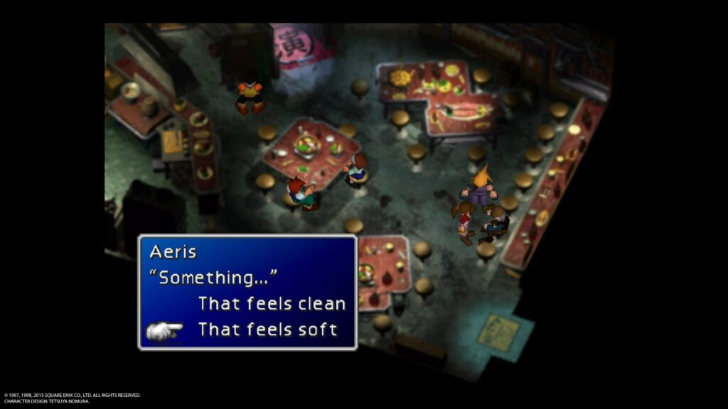 FINAL FANTASY VII 20151213123724 1024x576 Jak zdobyć trofeum Consummate Cross dresser w Final Fantasy 7