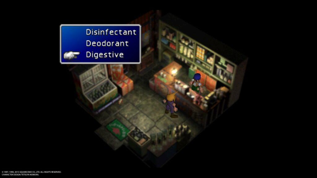 digestive 1024x576 Jak zdobyć trofeum Consummate Cross dresser w Final Fantasy 7