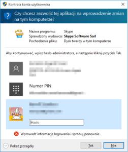 kontrola konta 252x300 Trzy proste metody na zablokowanie instalowania programów w systemie Windows