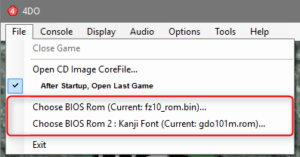 4DO bios 300x157 Konfiguracja FourDo (emulator Panasonic 3DO)