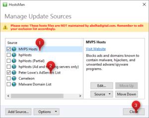 hosts 2 300x239 Blokujemy reklamy w Microsoft Edge