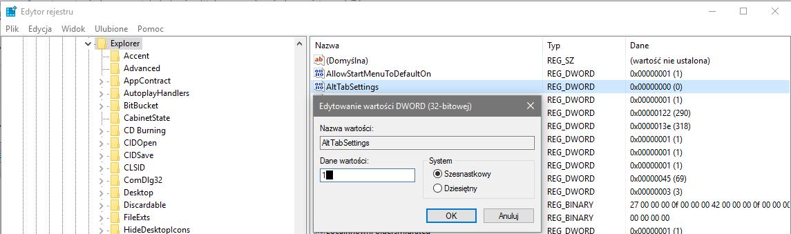 2016 02 04 17h19 31 Przywracamy klasyczne przełączanie się pomiędzy oknami w systemie Windows 10