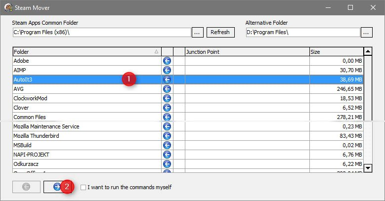 steam mover kopiuj Przenosimy zainstalowane aplikacje na inny dysk