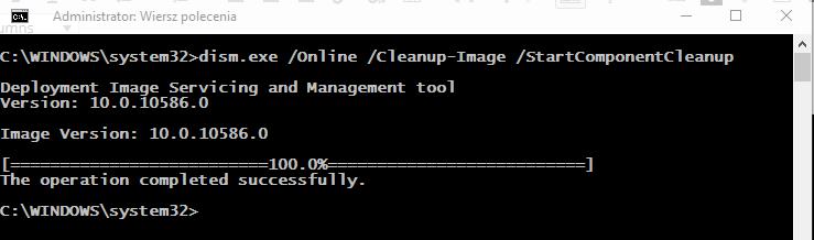 scr 714449515 Analizujemy folder WinSXS i usuwamy z niego zbędne elementy