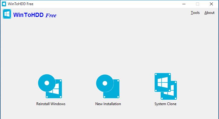wintohdd 1 Instalujemy system Windows bez nośnika DVD bądź USB
