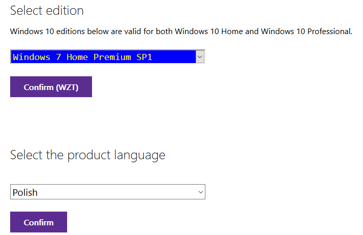 2016 04 30 19h03 57 Pobieramy za darmo system Windows bezpośrednio ze strony Microsoftu