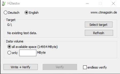 H2Test Sprawdzamy czy nasza karta pamięci jest oryginalna.