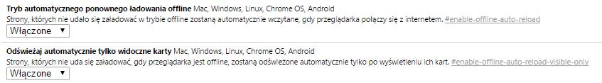 auto reload Przyśpieszamy przeglądarkę Google Chrome