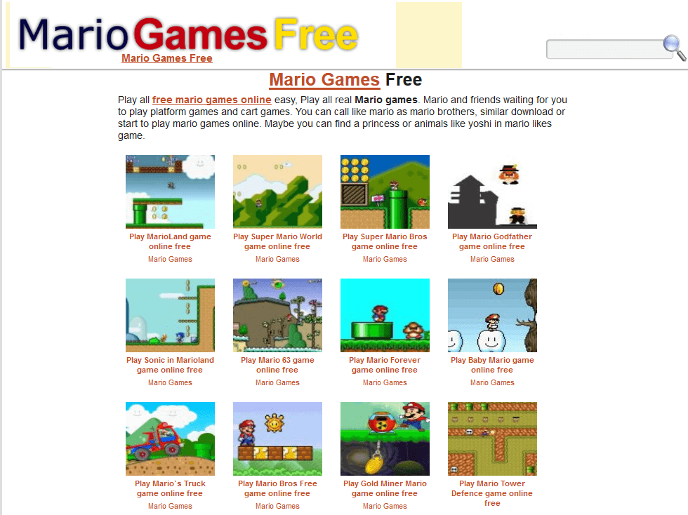 scr 1556896250 4  dobre stronki poświęcone Super Mario w sieci.