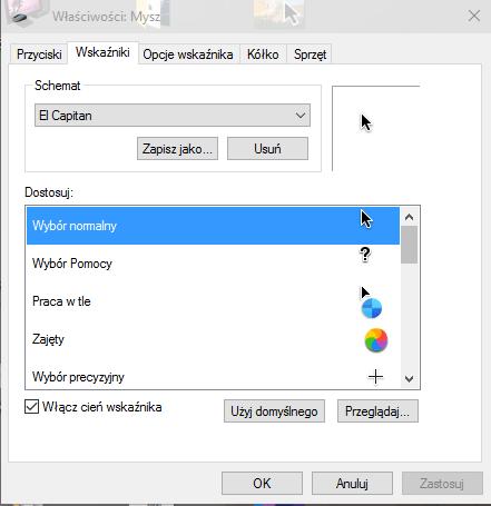 scr 279603078 Zmieniamy wygląd kursora na El Capitan z Mac OS X