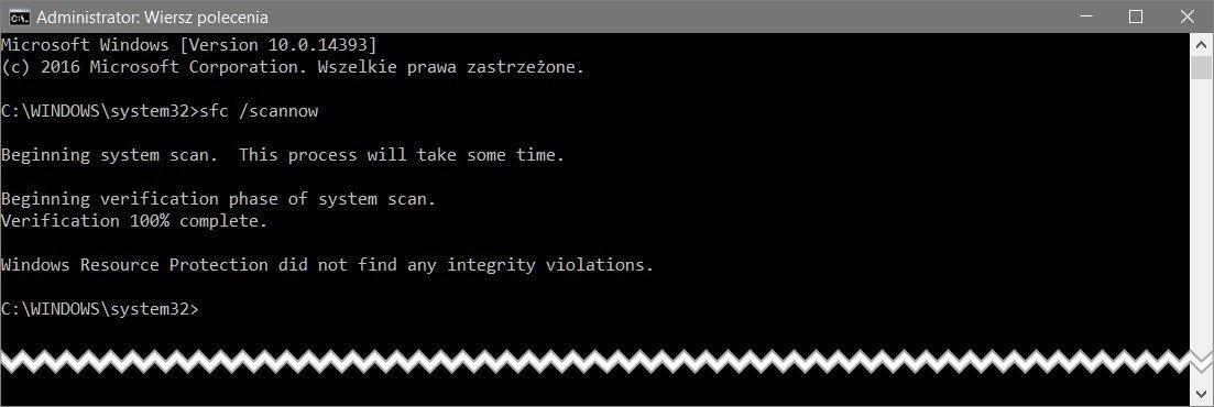 sfc scannow Usunąłeś przez przypadek pliki systemu Windows ? Nic straconego !