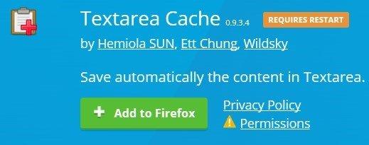 2017 03 23 16h16 48 Jak automatycznie tworzyć kopie zapasowe wpisywanych tekstów w przeglądarce Firefox