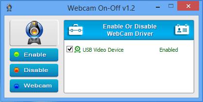 webcam on off enabled Jak wyłączyć kamerkę w systemie Windows