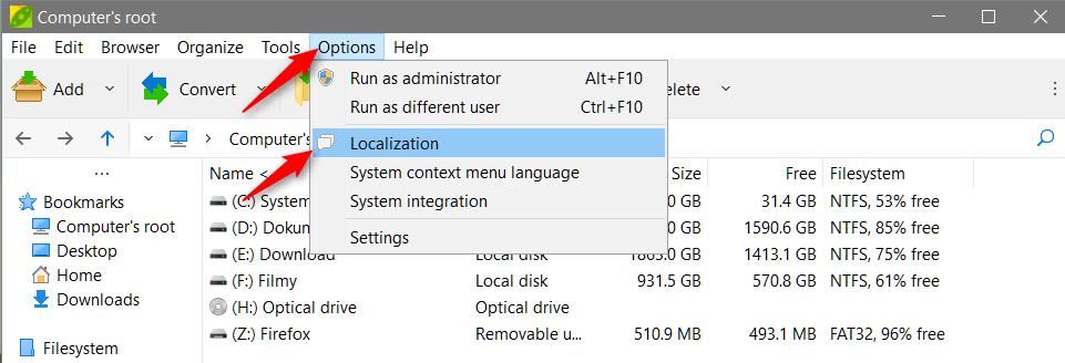 localization 1 Masowo konwertujemy archiwa *.zip do *.7z