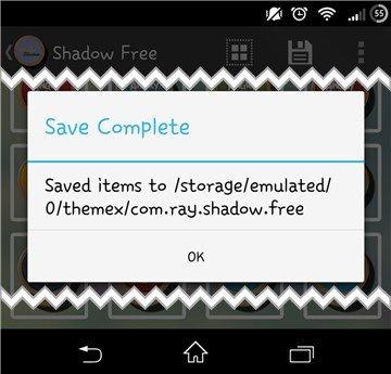 themex 5 W jaki sposób wyeksportować zawartość motywu na Androidzie.
