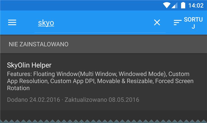 skyolin Dodajemy prosty menadżer okien do Androida