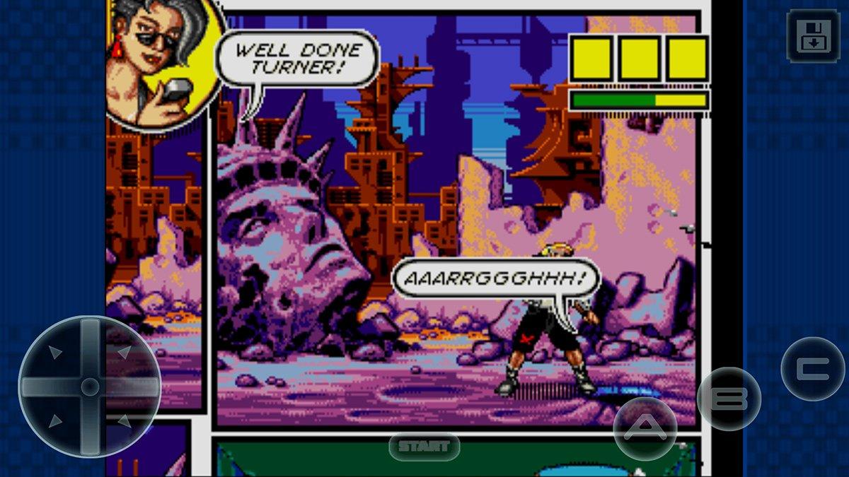 comiczone Gramy w gry z Segi Genesis na Androidzie/iOS bez emulatorów !