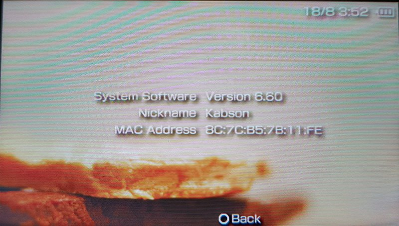 System info psp Instalacja custom firmware na Playstation Portable