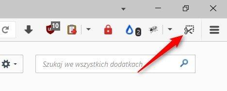 Zrzut ekranu 115 kopia Uaktywniamy ukrytą funkcję robienia screenshotów w Firefox