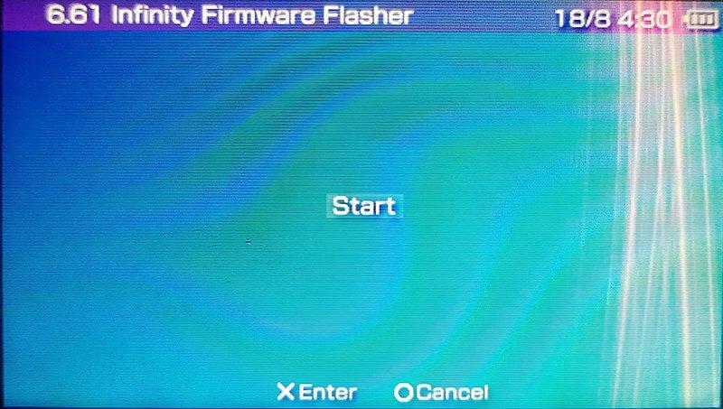 flasher 1 Instalacja custom firmware na Playstation Portable