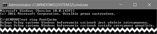 step 1 Odświeżamy pamięć podręczną czcionek w Windows 10