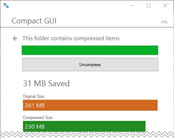 2017 10 13 15h45 14 Kompresujemy wybrane foldery za pomocą Windows Compact Tool