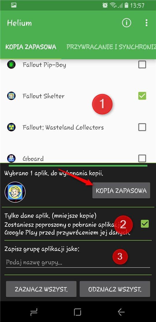 Screenshot 20171009 135722 Tworzymy kopię zapasową aplikacji na Androidzie bez ROOTa