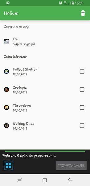 Screenshot 20171009 135936 Tworzymy kopię zapasową aplikacji na Androidzie bez ROOTa