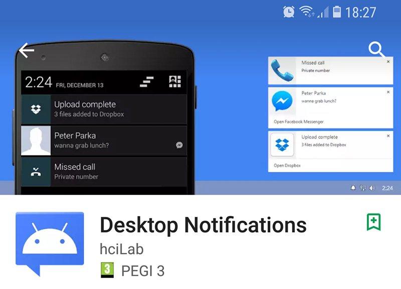 Screenshot 20171017 182711 Odbieramy powiadomienia z Androida na pulpicie Windows