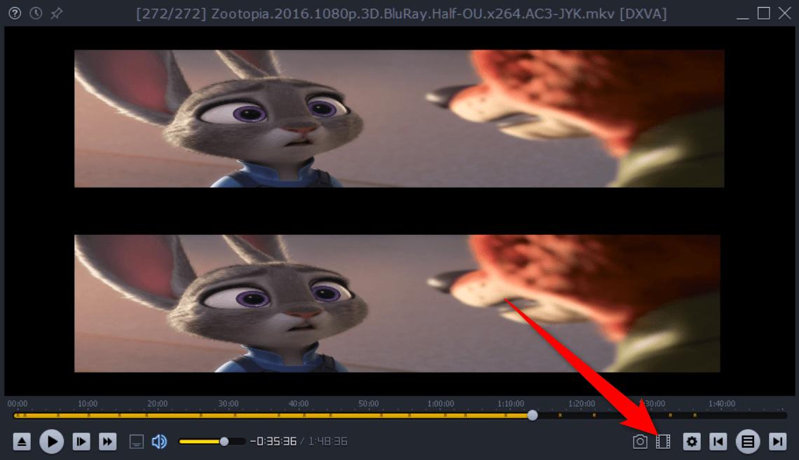 lightalloy Odtwarzamy film 3D jako 2D