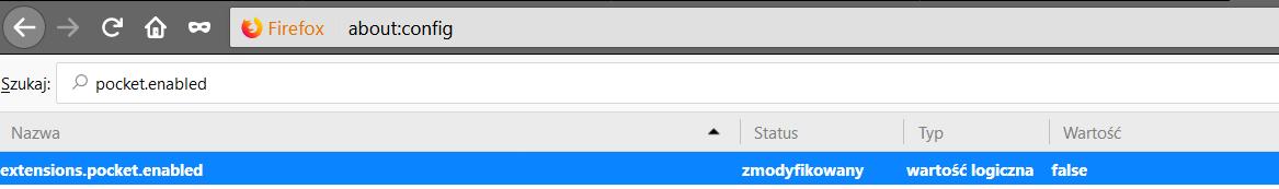 2017 12 01 19h12 26 Pozbywamy się usługi Pocket w Firefox Quantum