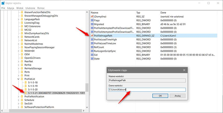 2017 12 04 15h11 47 Zmieniamy nazwę folderu użytkownika w systemie Windows
