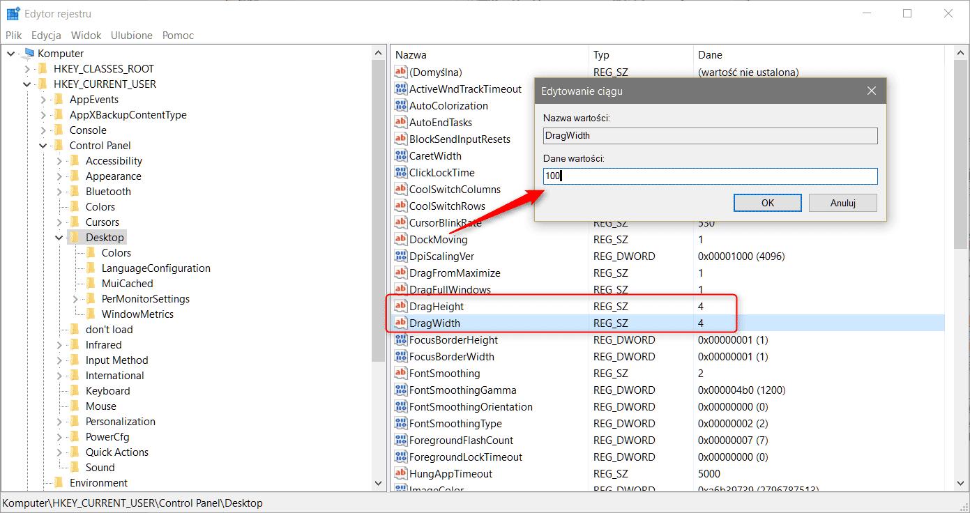 dragdropdisable Wyłączamy funkcjonalność przeciągnij i upuść w systemie Windows