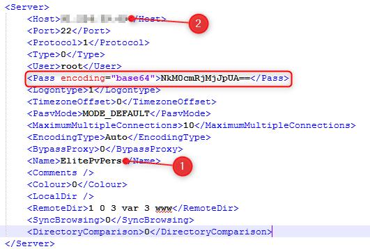 serwer dane Jak odczytać zapisane hasła w FileZilla