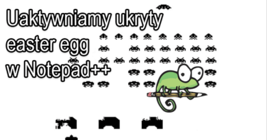 Uaktywniamy ukryty easter egg w Notepad++