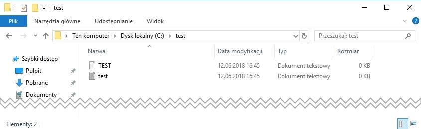 windows case Jak zmusić system Windows do rozróżniania wielkości liter w plikach i folderach