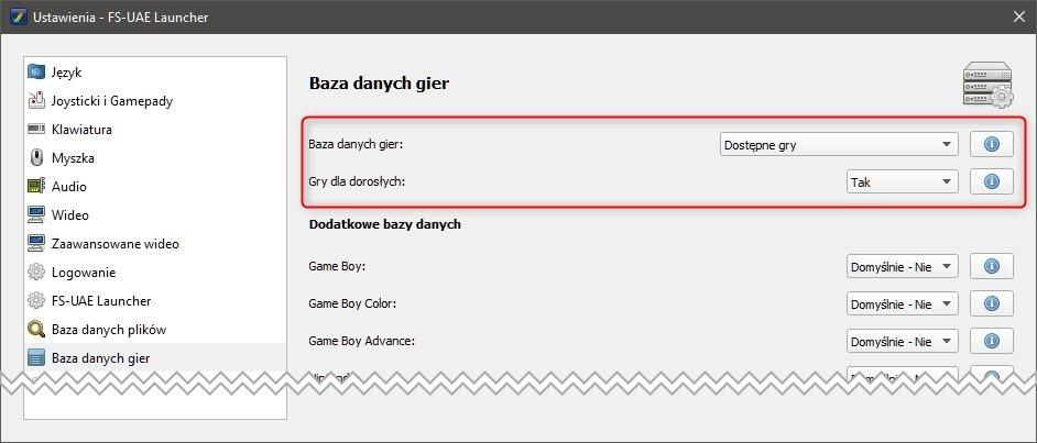 amiga baza danych Emulujemy gry z Amigi na PC (FS UAE)