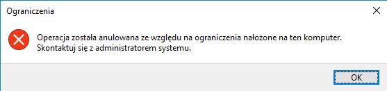 disallow run Blokujemy uruchamianie aplikacji w systemie Windows