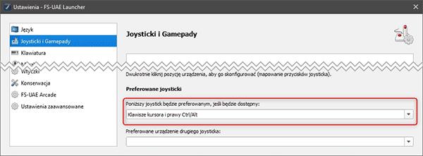 fs uae joystick Emulujemy gry z Amigi na PC (FS UAE)