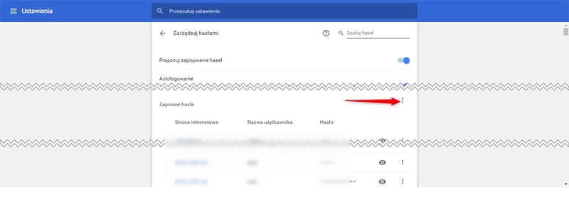 zapisane hasla chrome Jak zapisać loginy i hasła do pliku w Google Chrome