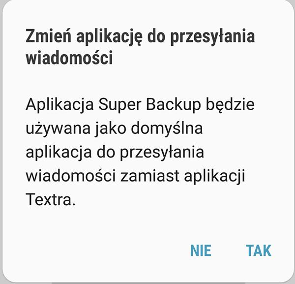 Screenshot 20180830 140424 Settings Jak przenieść SMS z jednego telefonu na drugi