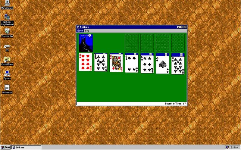 windows 95 Przypominamy sobie jak wyglądał system Windows 95
