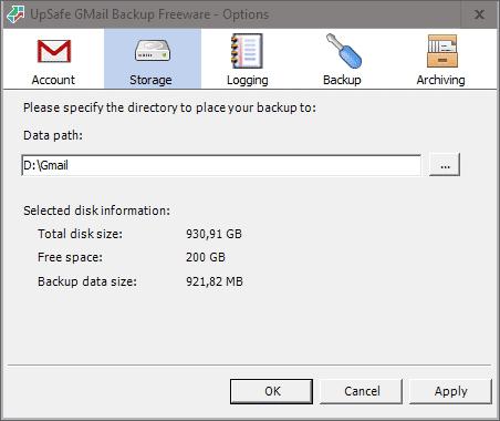 2018 12 26 11h52 44 Tworzymy kopię zapasową poczty Gmail na dysku twardym
